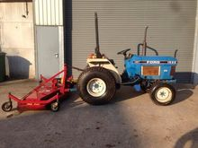 FORD 1520 with finishing mower