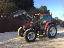 2001 CASE CS94 WITH LOADER LOAD