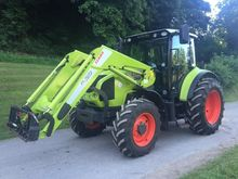 CLAAS ARION 410 CIS WITH FL120