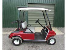 CLUB CAR 2 seater red golf cart