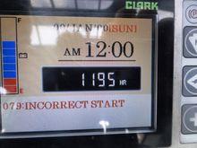 2012 Clark GEX 25 3F610 190216-