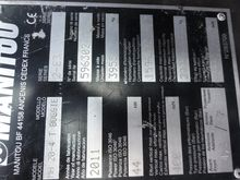 2011 Manitou MH 20 2F350 230216