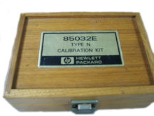 Agilent/hp 85032e Calibration K