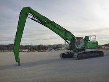 Excavator - : SENNEBOGEN 850 20