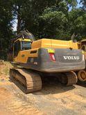 2013 Volvo EC340DL Track excava
