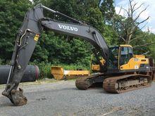 2014 Volvo EC300DL Track excava
