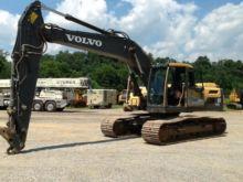 2012 Volvo EC220DL Track excava