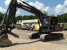 2014 Volvo EC140DL Track excava