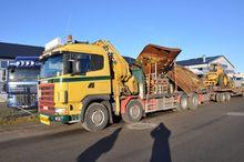 2002 Scania R124 8X2 420, HIAB