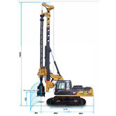 KR90C Rotary Drilling Rig