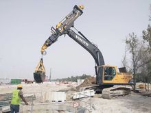 Telescopic Excavator Boom