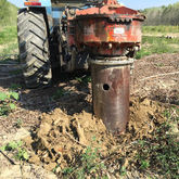 Tractor Mounted Stump Drills wi