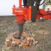 Excavator Mounted Stump Drills
