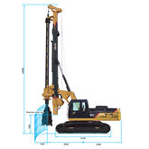 KR125C Rotary Drilling Rig