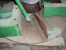 John Deere spreader attachment