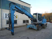 2007 Fuchs MHL 320 Liftable cab