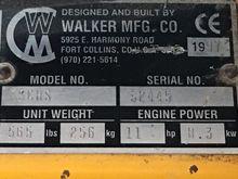 1997 Walker MS36GHS
