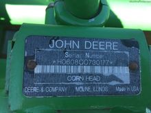 2009 John Deere 608C