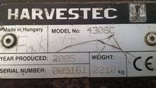 Used 2005 Harvestec