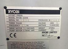 2007 RYOBI 524 HE