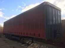 Used mega trailer in