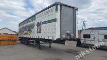 Semi-trailer - curtainsider