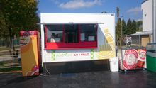Catering trailer bodex tent