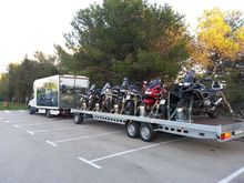Used Trailer 12 moto