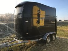 Horse trailer.