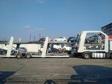 Car carrier trailer lohr EUROLO