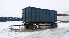 Huffermann trailer under the co