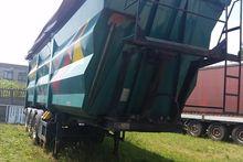 Steel trailer 50m3 hardox lueck
