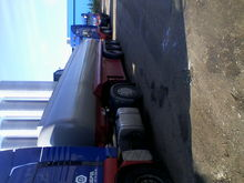 Used Semitrailer-tan