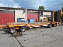 Goldhofer 4 axle low loader tra