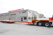 Used 3 axle low load