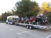 Trailer 12 motorcycles - turnta