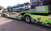 Loader semi-trailer to the carr