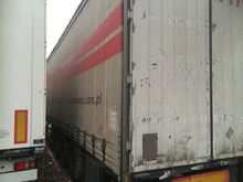 Curtainsider trailer weights us