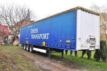 Krone curtainsider semi-trailer