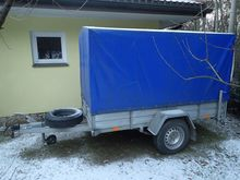 Single axle trailer Sucha 750kg