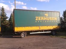 Used Car trailer in