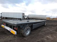 Trailer, container platform fab