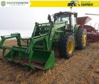 2015 John Deere 6140M Row Crop