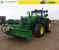 2015 John Deere 6195R Row Crop