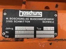 2001 Boschung SL 26 Lame à neig
