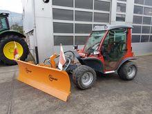 2012 Aebi TT 210 With snow plow
