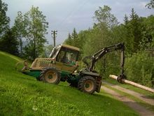 1997 Woody 90 Forestry tractors