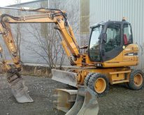 2009 Case WX95 Wheel excavator