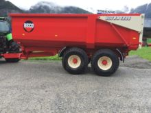 2016 Ultra 1300 Tipping trailer