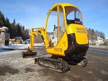 2005 Neuson 1503RD excavators;